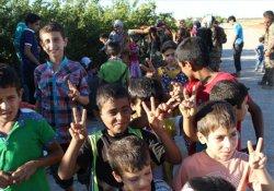 Menbic'de 1300 sivil daha IŞİD'ten kurtarıldı