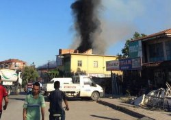 Malatya'da sanayi sitesinde yangın