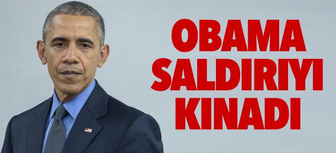 Obama'dan Fransa'daki saldırıya kınama