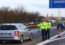 Fransa sınırında güvenlik kontrolleri sıkılaştırdı