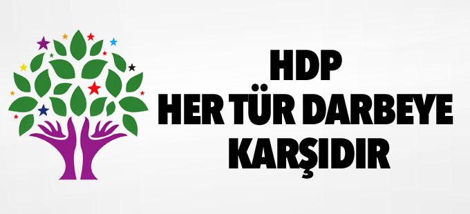 'HDP Her Tür Darbeye Karşıdır'