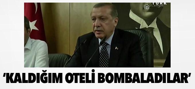 Erdoğan:Genelkurmay Başkanımızın durumunu bilemiyoruz