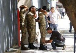 Genelkurmay'da bulunan askerler teslim oldu