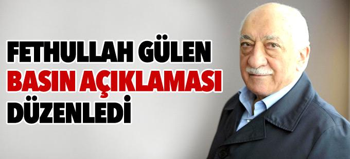 Fethullah Gülen, çiftlik evinde basın toplantısı düzenledi