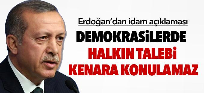"""Erdoğan'dan """"İdam isteriz"""" diyen vatandaşlara cevap: Bu sizlerin bir hakkıdır!"""