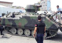 Taksim Meydanı'ndaki son tank da kaldırıldı