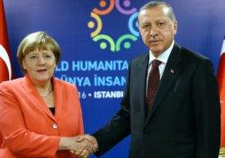 Erdoğan'dan Merkel ve Stoltenberg ile telefon görüşmesi