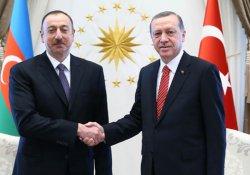 Erdoğan, Aliyev ve Ruhani ile görüştü