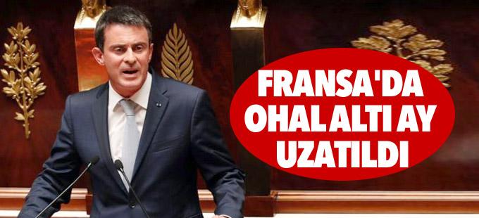 Fransa'da OHAL altı ay uzatıldı