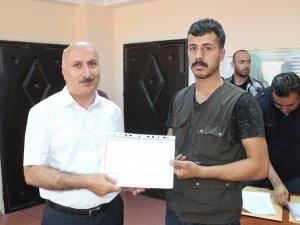 Hakkari'de 50 kursiyere sertifika verildi