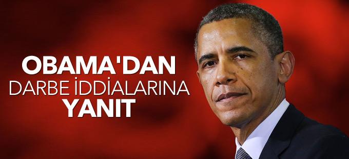 Obama: ABD'nin darbe girişimini bildiği iddiası yanlış