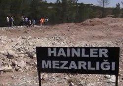 Kadir Topbaş'ın projesi 'Vatan Hainleri Mezarlığı' görüntülendi