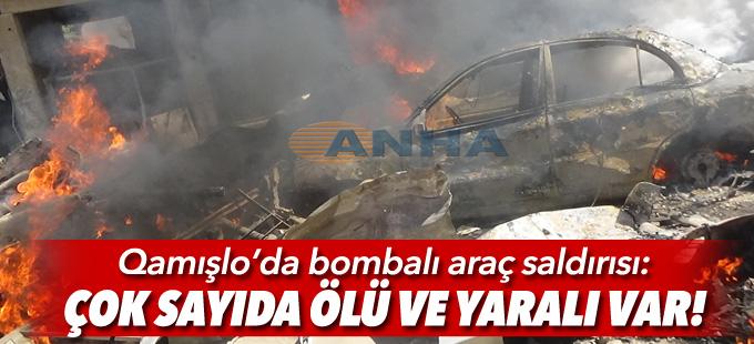 Qamışlo'da patlama: Çok sayıda ölü ve yaralı var