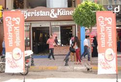 Van'da Ciğeristan ve Künefe merkezi açıldı