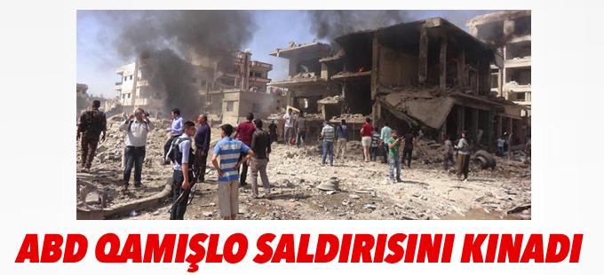 ABD Qamışlo saldırısını kınadı