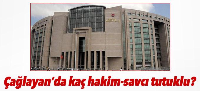İstanbul Adalet Sarayı'nda tutuklu hâkim ve savcı sayısı...