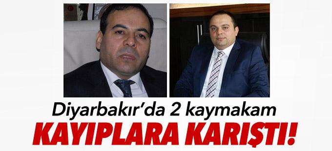 Diyarbakır'da 2 kaymakam kayıplara karıştı