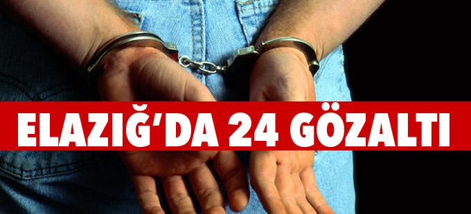 Elazığ Emniyeti'nde ikinci dalga: 24 gözaltı