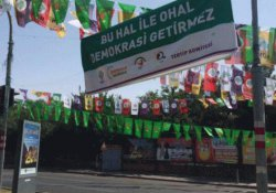 'Darbelere hayır, demokrasi hemen' mitingi bugün Diyarbakır'da