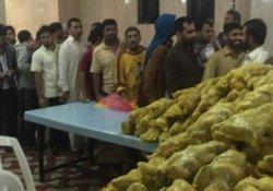 S.Arabistan'daki aç kalan Hintli işçiler