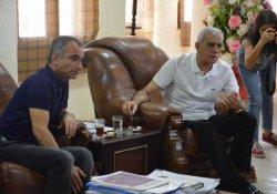 Mardin Belediye Eşbaşkanı Ahmet Türk Nusaybin halkını ziyaret etti