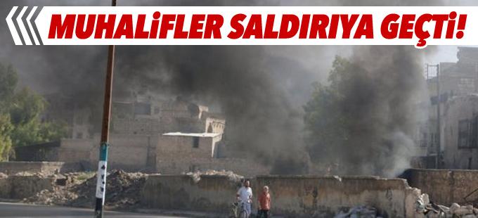 Suriyeli muhalifler Halep'te kuşatmayı kırmak için saldırıya geçti