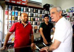 Türk: Nusaybin'de su borçları silindi
