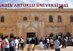 Mardin'de 26 öğretim görevlisi açığa alındı