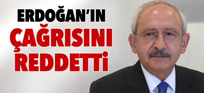 Kılıçdaroğlu, Yenikapı'daki mitinge katılmayacak