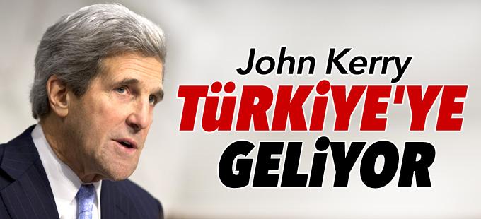 Kerry Türkiye'ye geliyor