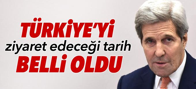 Çavuşoğlu: Kerry 24 Ağustos'da Ankara'da