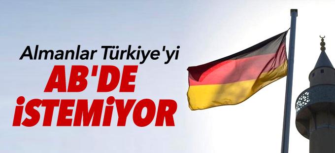 Anket sonucu: Almanlar Türkiye'yi AB'de istemiyor