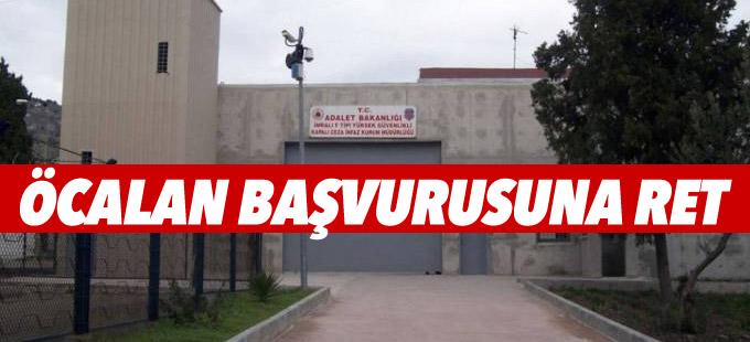 Öcalan için AYM'ye yapılan başvuru reddedildi