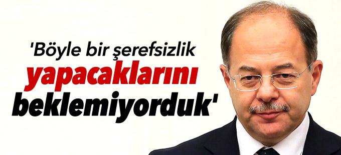 Bakan Akdağ: 'Böyle bir şerefsizlik yapacaklarını beklemiyorduk'