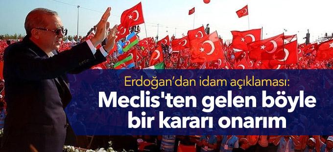 Erdoğan: Meclis'ten gelen böyle bir kararı onarım
