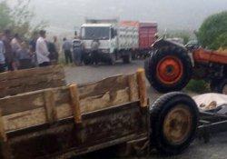 Mersin'de traktör kazası: 1 ölü