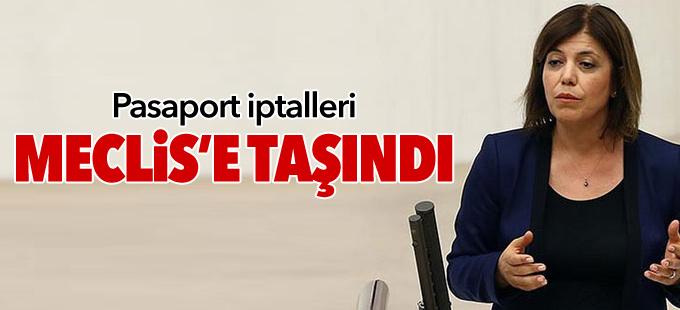 HDP pasaport iptallerini Meclis'e taşıdı
