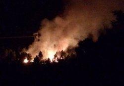 Yangın 6 saatte söndürüldü