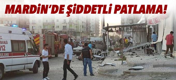 Mardin'de patlama: 1'i polis 3 kişi yaşamını yitirdi