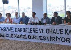 'Emek ve Demokrasi İçin Güç Birliği' kuruldu