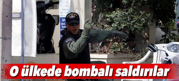 Tayland'ın turistik bölgelerinde bombalı saldırılar