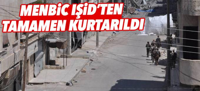 Menbic IŞİD'ten tamamen kurtarıldı