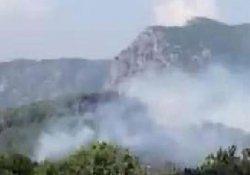 Ula'da orman yangını