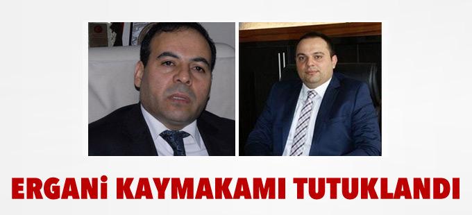 Ergani Kaymakamı tutuklandı