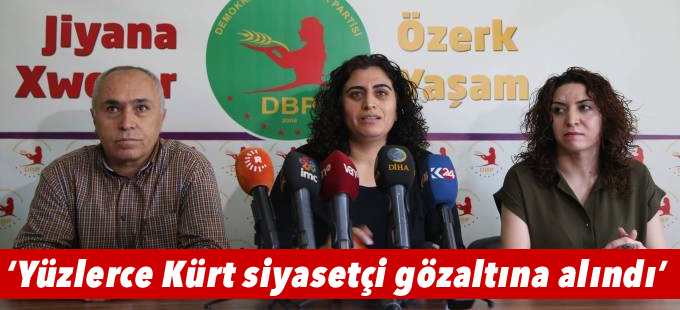 Tuncel: OHAL'le birlikte yüzlerce Kürt siyasetçi gözaltına alındı