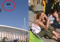 Rio'da inanılmaz kaza