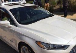 Ford'un sürücüsüz otomobili 2021'de