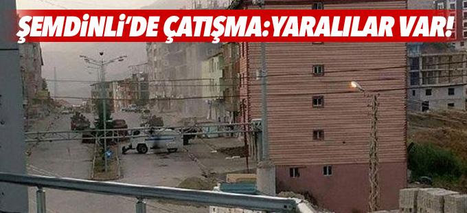 Şemdinli'de polis noktasına saldırı: Yaralılar var