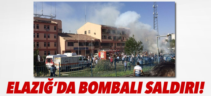 Elazığ'da Emniyet Müdürlüğü'ne bombalı saldırı: 3 polis hayatını kaybetti