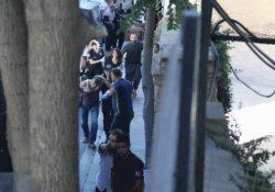 Özgür Gündem'e baskında gözaltına alınan gazeteciler adliyede